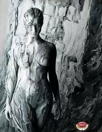 Боди-арт фото видео