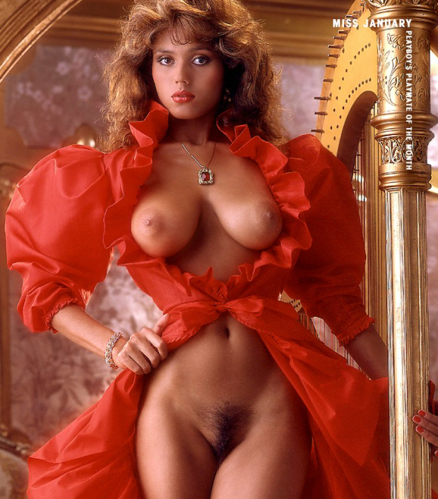 Плейбой 1983 Miss January Lonny Chin