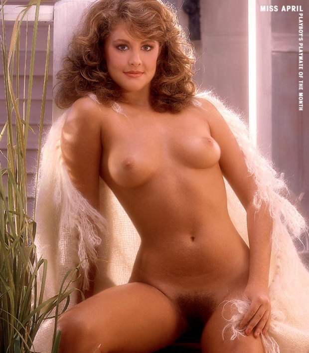 Плейбой 1983 Miss April Christine Ferguson