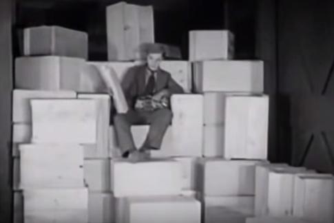 Иди на Запад 1925 комедия года Бастер Китон