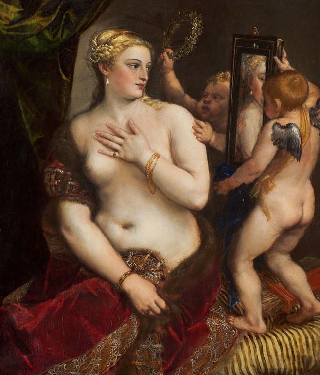 Эротика в истории мировой живописи