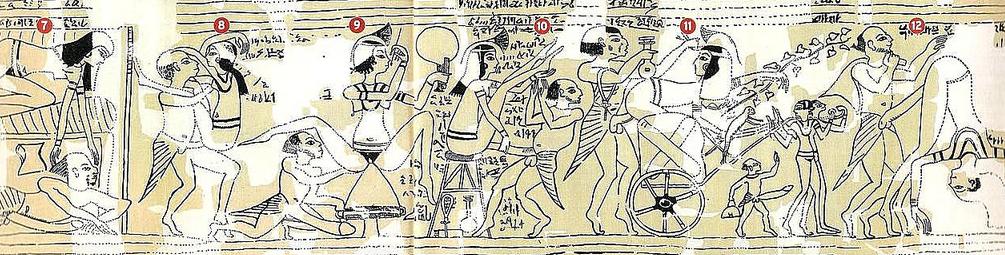 Эротика в Древнем Египте видео