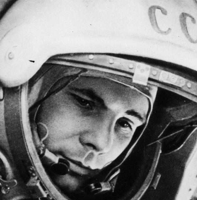 Юрий Гагарин первый космонавт