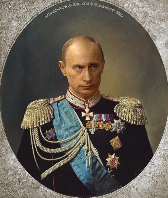 Одень на себя Путина - стань патриотом!