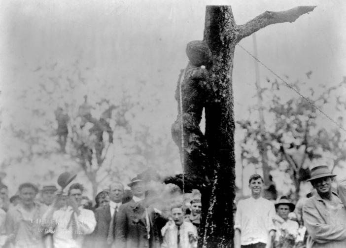 Суд Линча Америка 1916 год