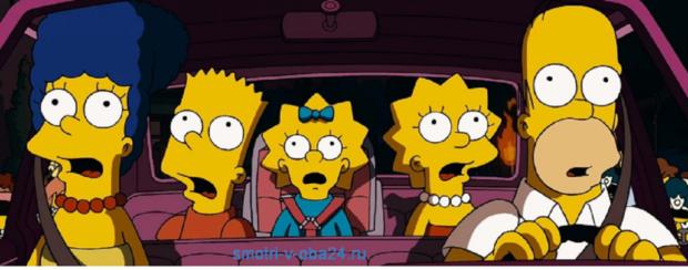 Симпсоны в кино смотреть онлайн