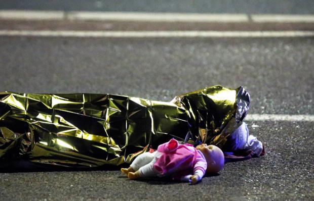 Теракт на набережной Ниццы Франция