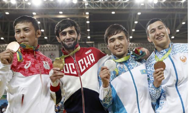 Первое золото России на Олимпиаде