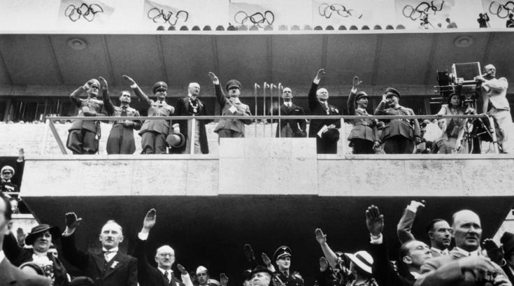 Лени Рифеншталь Олимпиада 1936 года