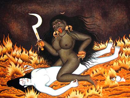 Богиня Кали древний культ