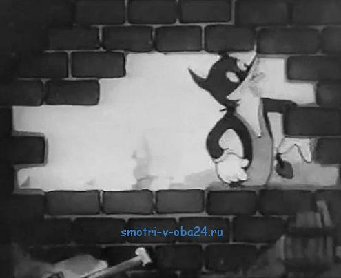 Лиса-строитель мульт 1936 года