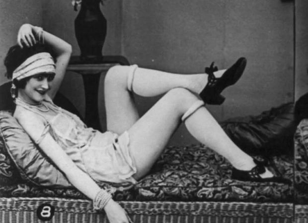 Эротические открытки прошлого века